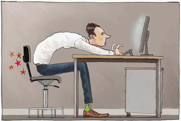 HOW TO SURVIVE SITTING ALL DAY